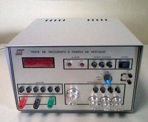 Teste de tacografo