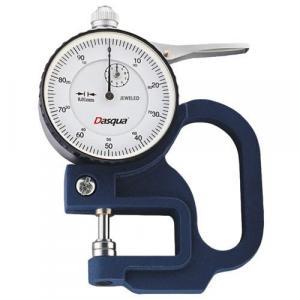 Calibração de medidor de espessura