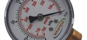 Calibração de vacuômetro